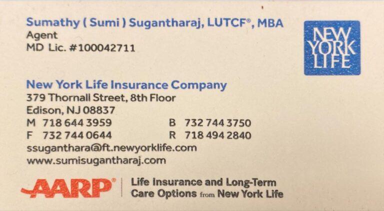 Sumi Suganthraj, LUTCF