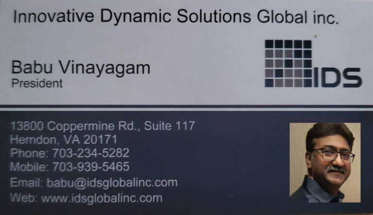 IDSGlobal Inc